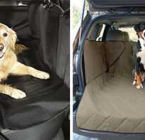 Чехол на сиденье автомобиля для собак