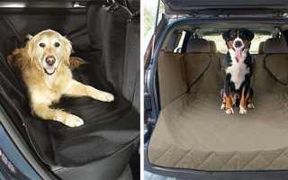 Накидка на сиденье для перевозки собак