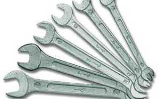 Как определить размер ключа под гайку
