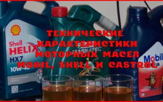 Какое моторное масло лучше кастрол или шелл