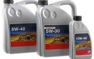 Маркировка масла 5w40 означает что масло