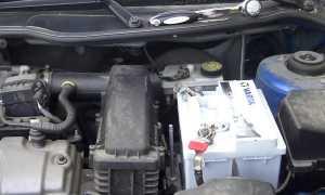 Как снять аккумулятор пежо 206