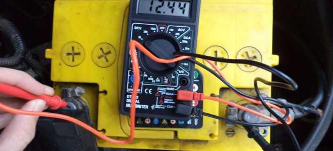 Напряжение аккумулятора 13 вольт