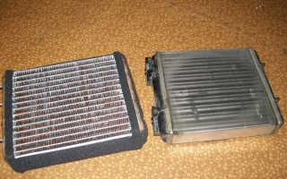 Медный или алюминиевый радиатор печки